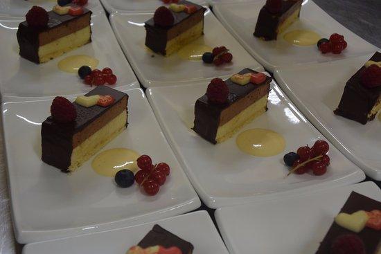 La Louviere, Belgia: gâteau aux deux chocolat