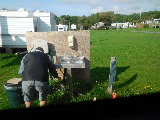 Pictou, Canadá: Dump station hygiene