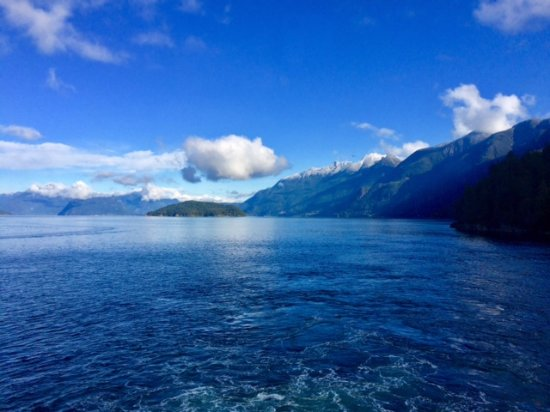 BC Ferries: Preparing to depart from Horseshoe Bay on the mainland. Like a scenic mini-vacation!