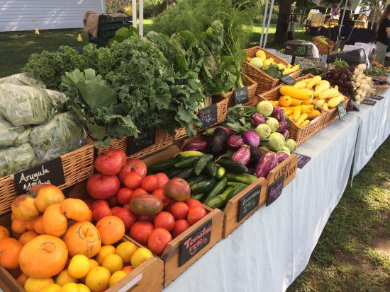 North Kingstown, RI: Organic farm has a CSA and farmers' market Saturdays 8:30-12:30 May-Oct