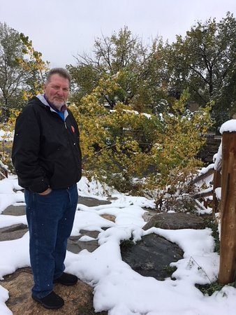 Golden, CO: The Author Enjoys The Snow