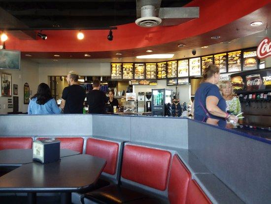 Peoria, AZ: Carls Jr. better fast food that Mcd's