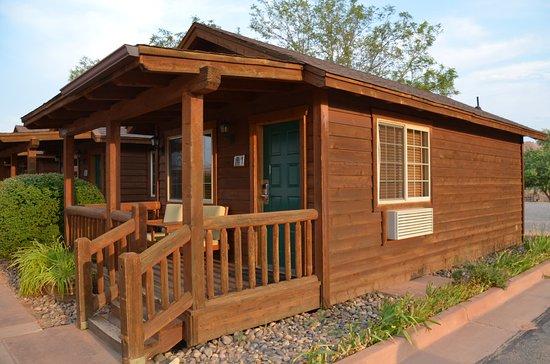 Bluff, UT: Unser Cabin mit Veranda