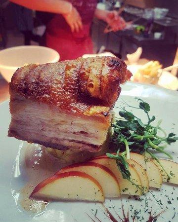 Usk, UK: Belly Pork