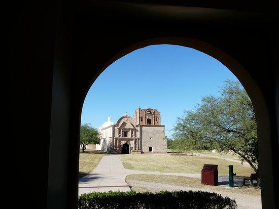Tumacacori, AZ: First view