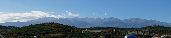 Almyrida, Grécia: Mountains from the Roof Garden