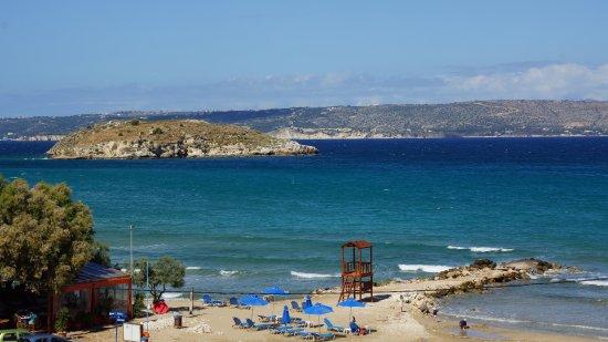 Almyrida, Grécia: Beach view