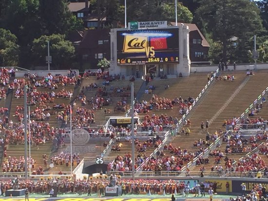 University of California, Berkeley: Memorial Stadium on Cal campus