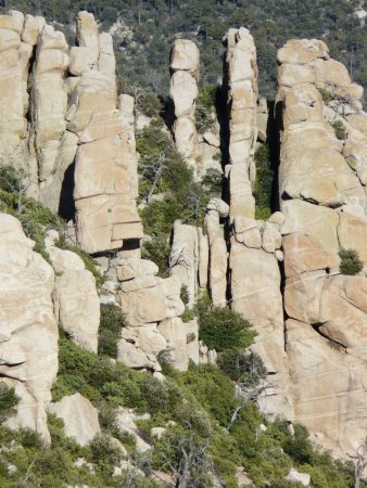 Mount Lemmon, Αριζόνα: Magnificent rocks