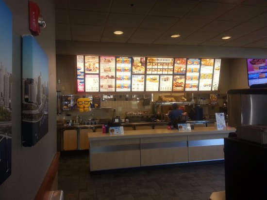Rosemont, IL: counter at Culver's
