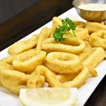Caulfield, Australia: Calamari rings