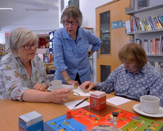 Halesworth, UK: Board Games Cafes held every last Monday of the month