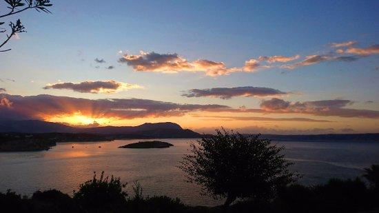 Plaka, Yunanistan: Sunset