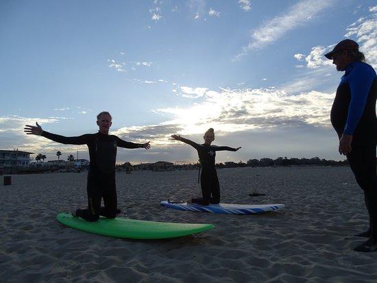 Pismo Beach Surf Shop : Starts with beach instruction