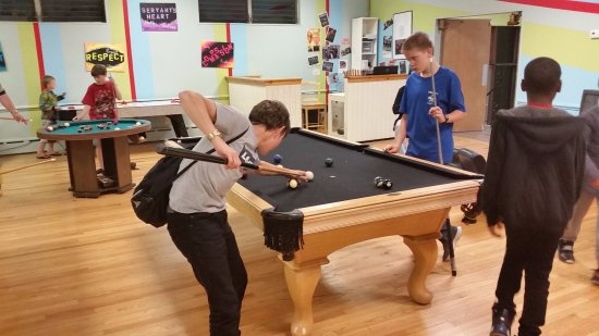 Morrisville, PA: Pool, air hockey, and more are always available