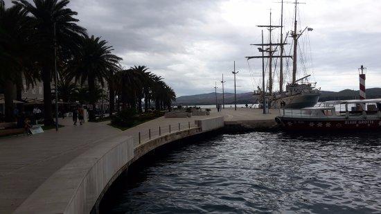 Tivat, Montenegro: nice walk way