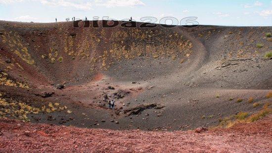 Nicolosi, Italia: Cratere Silvestre inferiore #1