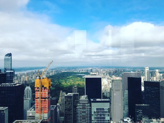 The Westin New York Grand Central: View from Rockerfella - HIGHLY RECCOMEND