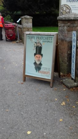 Salisbury, UK: Poster outside