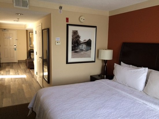 Hilton Garden Inn Chattanooga Downtown: Bed room area