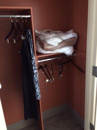 Hilton Garden Inn Chattanooga Downtown: Even the closet got a makeover.