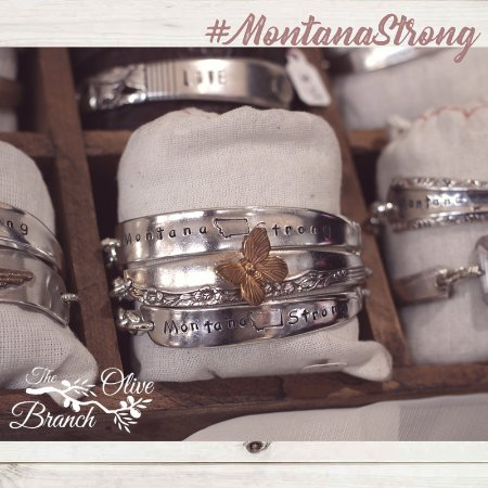 Belle Fourche, SD: Limited edition Montana Strong silver bracelets