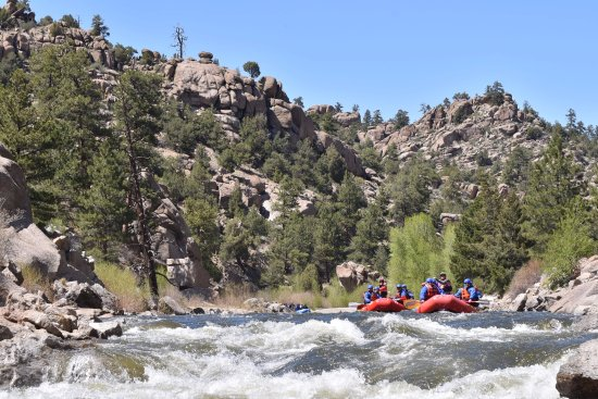 Buena Vista, Κολοράντο: Rafting in Browns Canyon National Monument