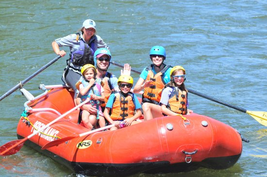 Buena Vista, CO: Family friendly Arkansas River rafting! Children as young as 4 can join us on the Ark.