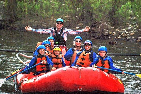 Buena Vista, CO: Family fun on the Mild & Scenic stretch of the Arkansas River.