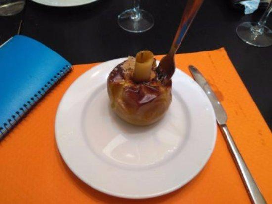 Castellbisbal, Spagna: Manzana al horno