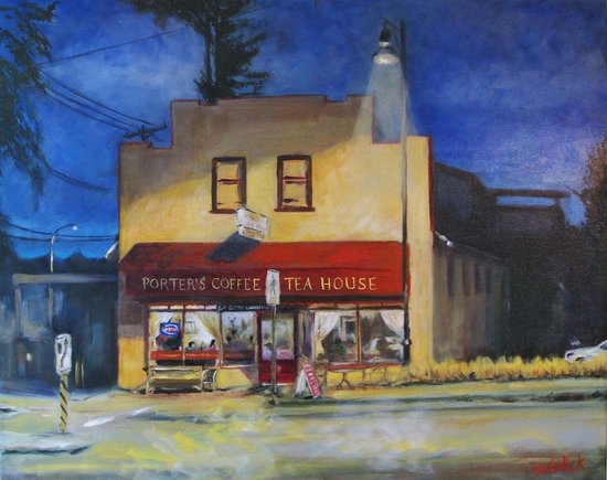 Langley City, Canadá: Porters Bistro - in the heart of historic Murrayville (Langley.)