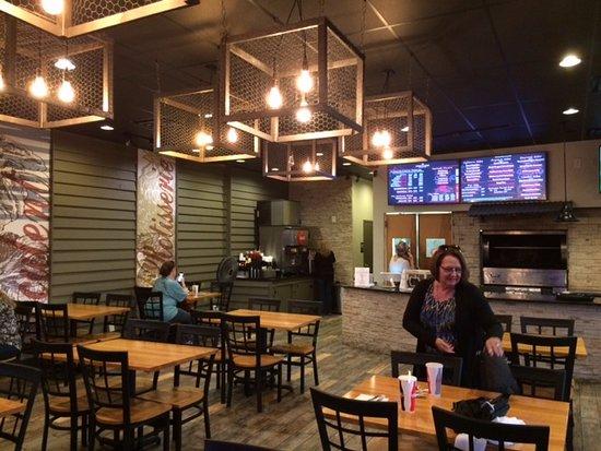 Clarksville, TN: Interior of the restaurant