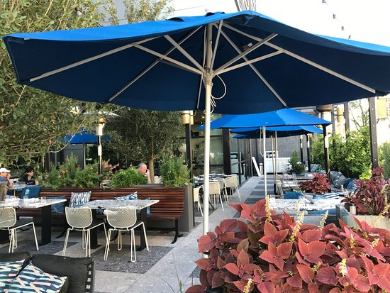 Earls Kitchen Bar Patio Umbrellas