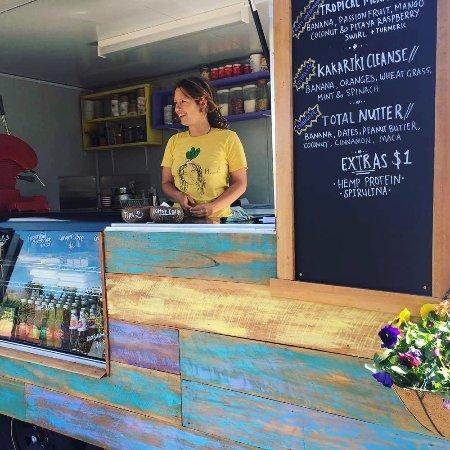 Kaiteriteri, New Zealand: Smoothie bowl menu