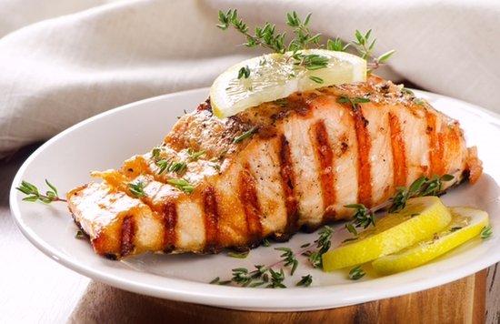Athens, TX: Grilled Salmon