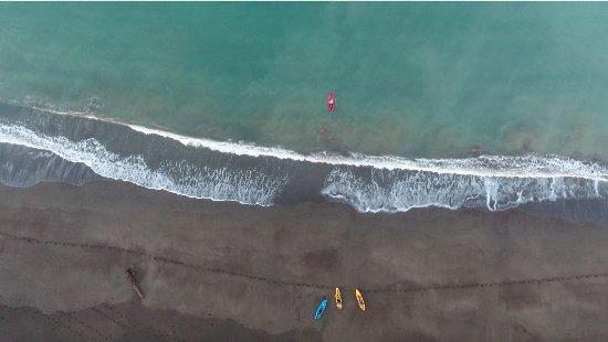 Cambutal, Панама: Beach Launch Area