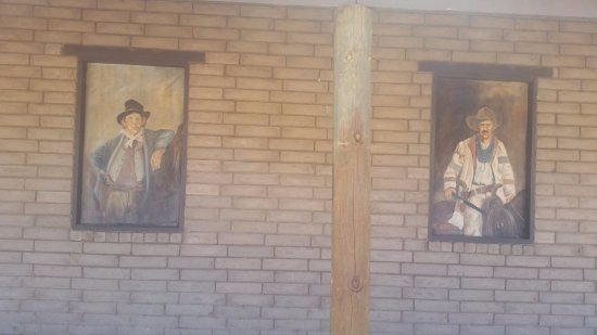 Old Fort Sumner Museum: Paintings of Outlaws and Law Men