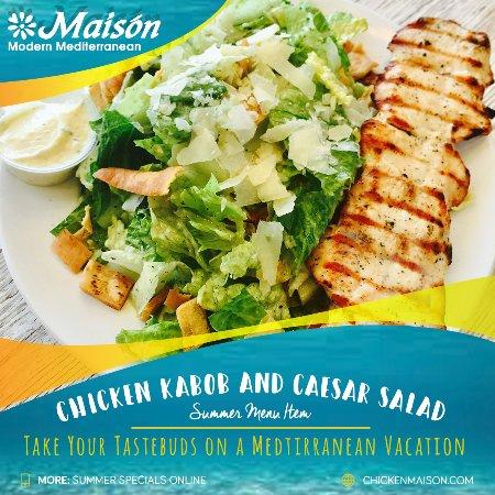 Торренс, Калифорния: chicken kabob caesar salad combo