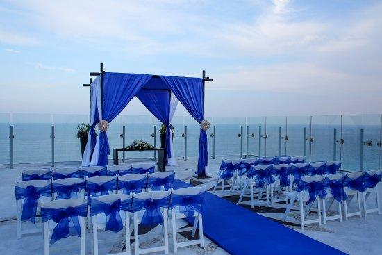 Beach Palace Rooftop Wedding