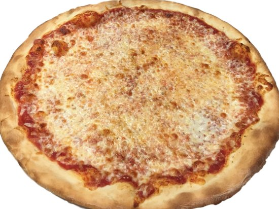 Coral Springs, FL: And sometimes just a good ol' plain cheese pizza does just great!