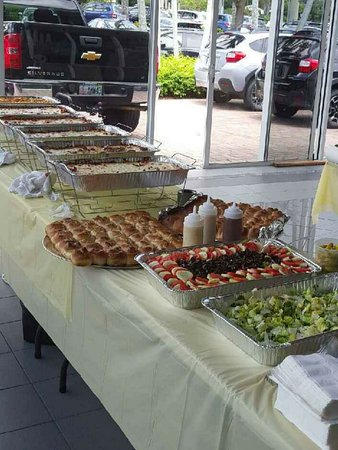 Coral Springs, FL: We'll cater car dealerships and other businesses too!
