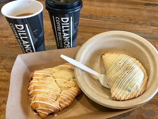 Salem, OR: Marionberry scone & apple huckleberry turnover