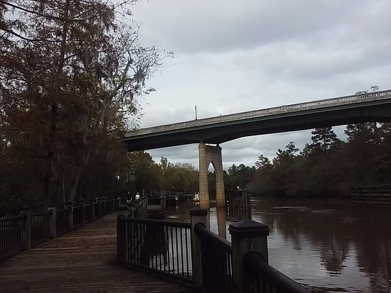 Conway, SC: View of the bridge from the River walk