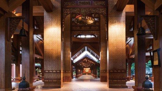 Jinghong, China: Hotel Lobby