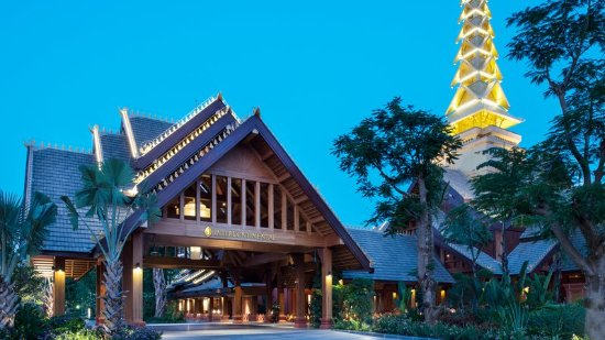 Jinghong, China: Hotel Exterior