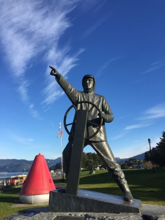 Prince Rupert, Canadá: Mariner pointing the way