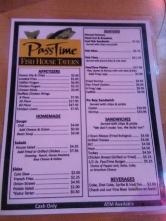 Jeffersontown, KY: Menu