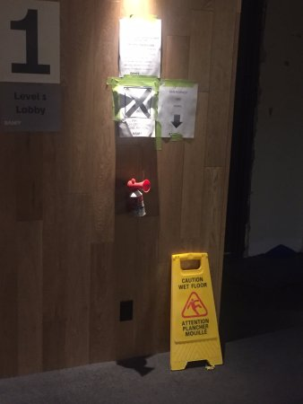 The Banff Centre for Arts and Creativity: The fire alarm system.