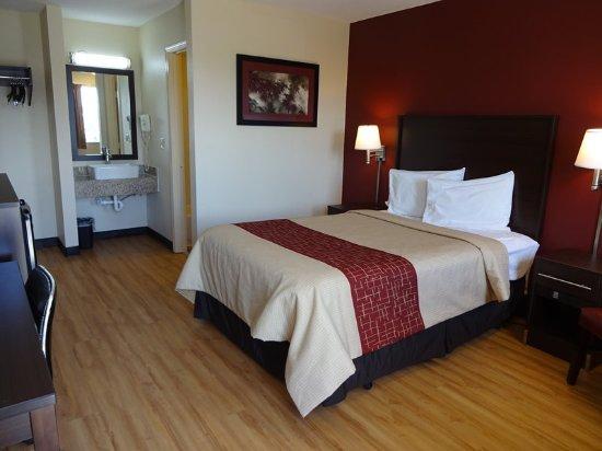 สกอตส์บูร์ก, อินเดียน่า: Deluxe 1 Full Bed