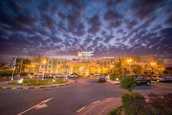 Jahra, Kuwait: Hotel Entrance